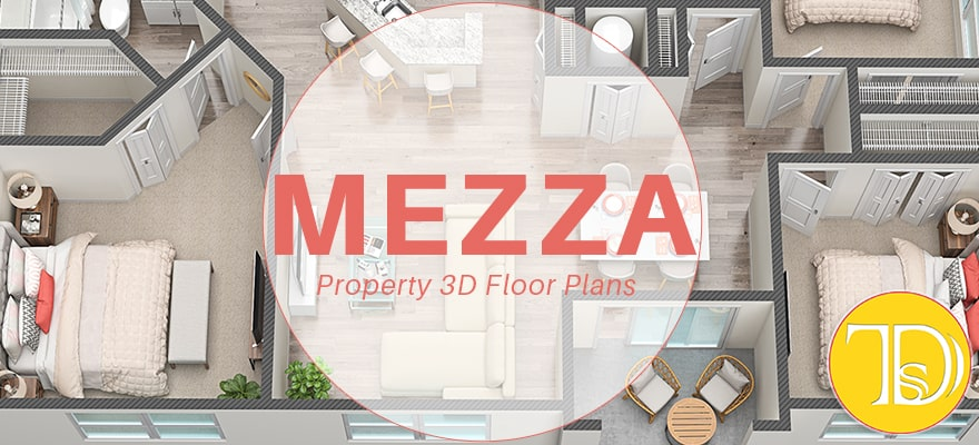 Florida multifamily property 3d floor plans, best 3d floor plans in Florida