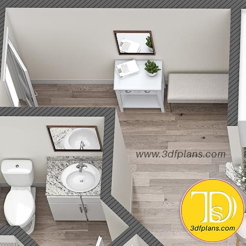 home entrance, wardrobe, 3d floor plan, apartment 3d plan, Planritning 3d