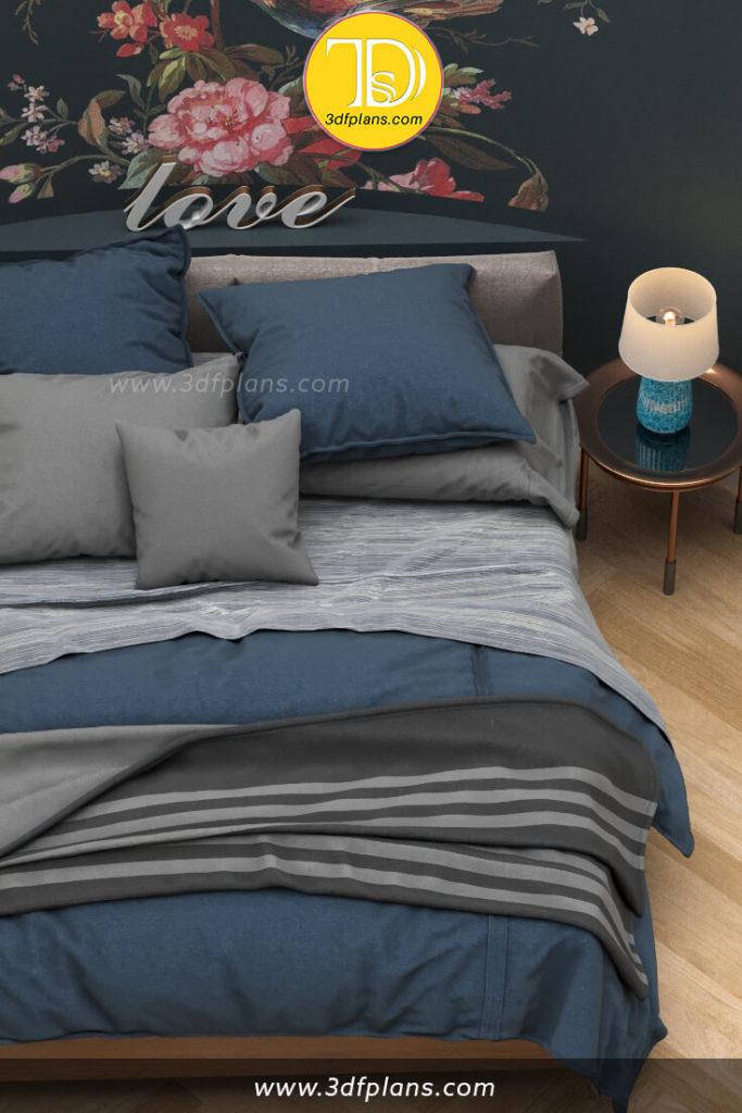 bedroom 3d floor plan, unique bedroom design, bedroom decor, bedroom 3d visualization, bedroom 3d rendering, bedroom plan, bedroom decoration, 1 bedroom 3d floor plan, one bedroom home, one bedroom design, small bedroom design, bedroom ideas, master bedroom ideas