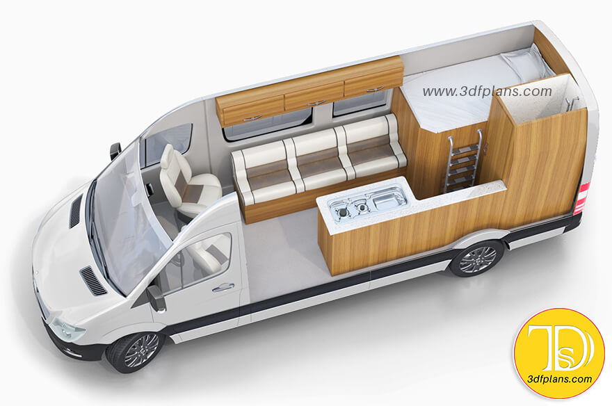 3d Layout Design For Caravans Motorhomes 3d Floor Plans