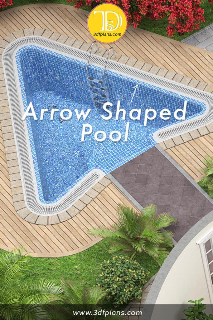 swimming pool design, pool design, beautiful swimming pool, swimming pool with yacht wood, yacht wood flooring, custom swimming pool design