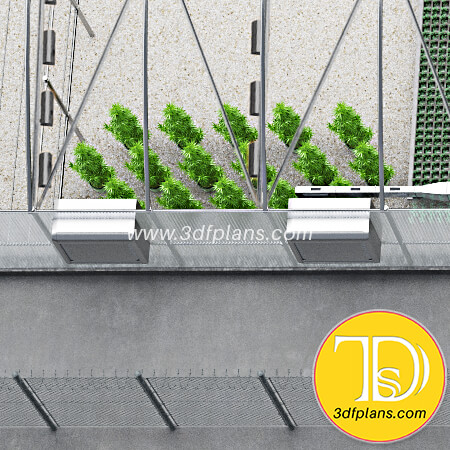 Greenhouse range hood, greenhouse air conditioner, greenhouse humidifierб Greenhouse ventilation system