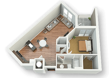 3D Floor Plan Rendering Service, 3d floor plan service, 3d rendering service, apartment 3d, apartment layout, home 3d