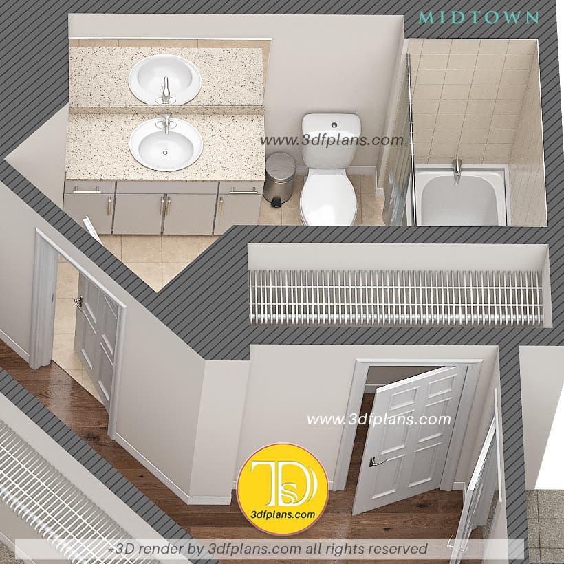 bathroom with tile, bathroom renovation, bathroom design, bathroom 3d ideas