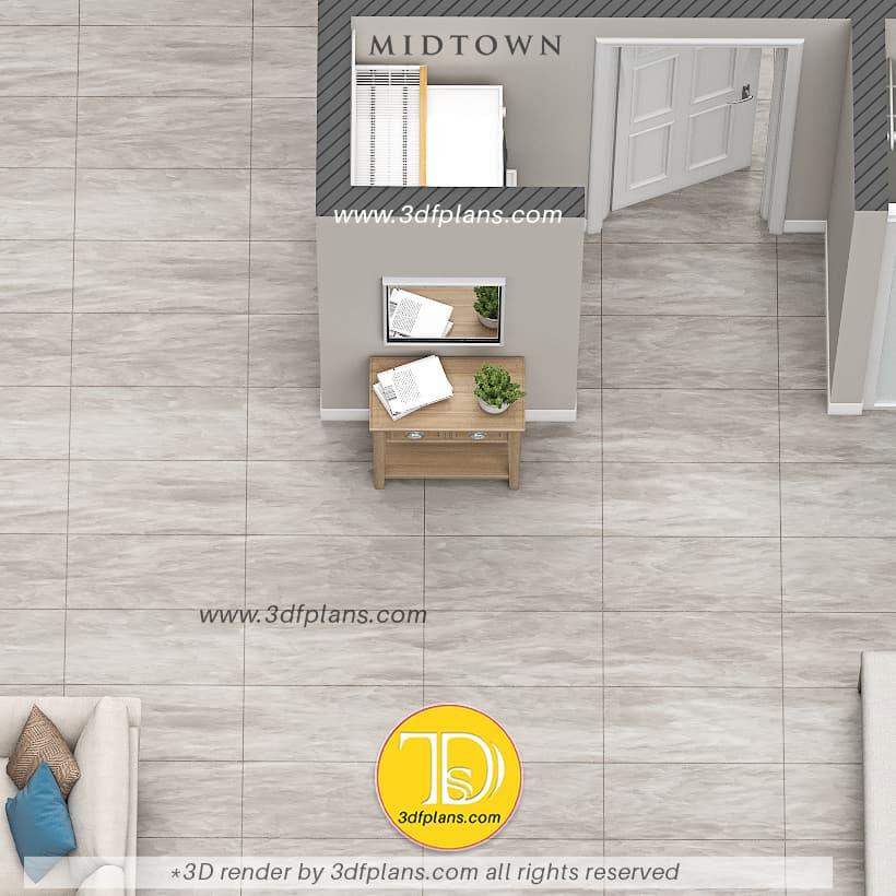 Hallway 3d floor plan, Pianta del corridoio 3d, 3D планировка корридора, Flur 3d Grundriss, 廊下の3Dフロアプラン