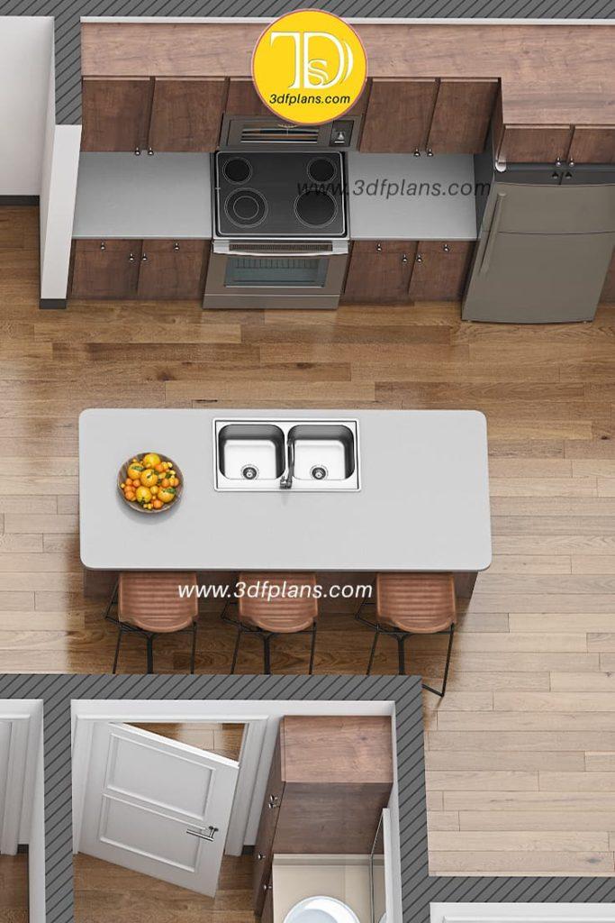 3d floor plan rendering service, best 3d floor plans