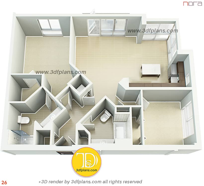 new apartment 3dfloorplan